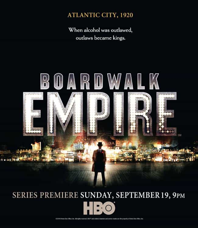 Boardwalk Empire is listed (or ranked) 3 on the list What to Watch If You Love 'The Wire'