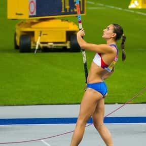 Yelena Isinbayeva is listed (or ranked) 23 on the list The Most Influential Athletes Of All Time