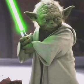 Yoda is listed (or ranked) 22 on the list The Best Movie Characters Of All Time