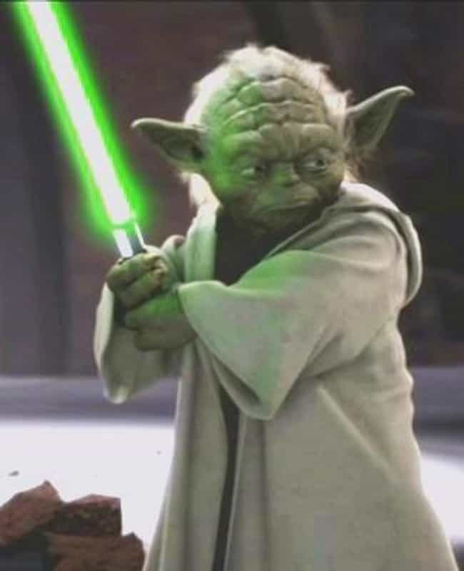 Yoda is listed (or ranked) 1 on the list The Strongest Jedi In The 'Star Wars' Universe