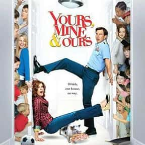 Yours, Mine and Ours is listed (or ranked) 3 on the list The Best Kids & Family Movies On Amazon Prime Video