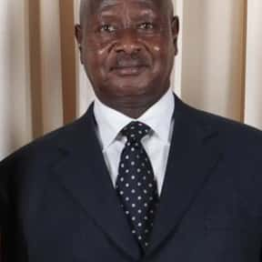 Yoweri Museveni is listed (or ranked) 8 on the list Famous People From Uganda