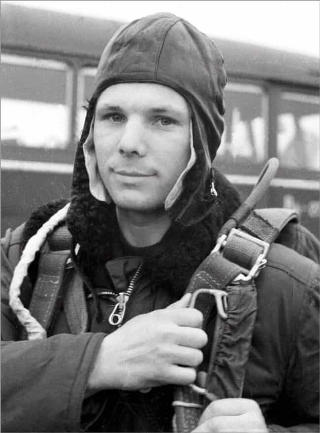 Yuri Gagarin is listed (or ranked) 3 on the list Famous Male Astronauts