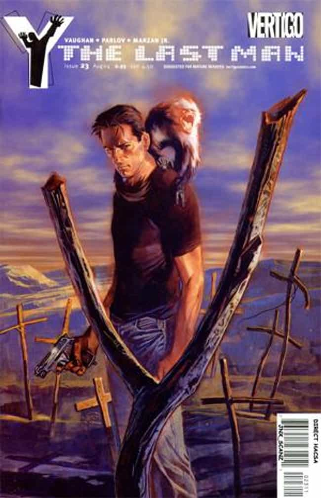 Y: The Last Man is listed (or ranked) 8 on the list Comic Books That Would Make Great Cartoons