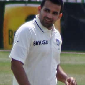 Zaheer Khan is listed (or ranked) 23 on the list Famous Athletes from India