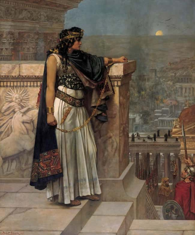 Zenobia is listed (or ranked) 6 on the list The Greatest Warrior Queens In History