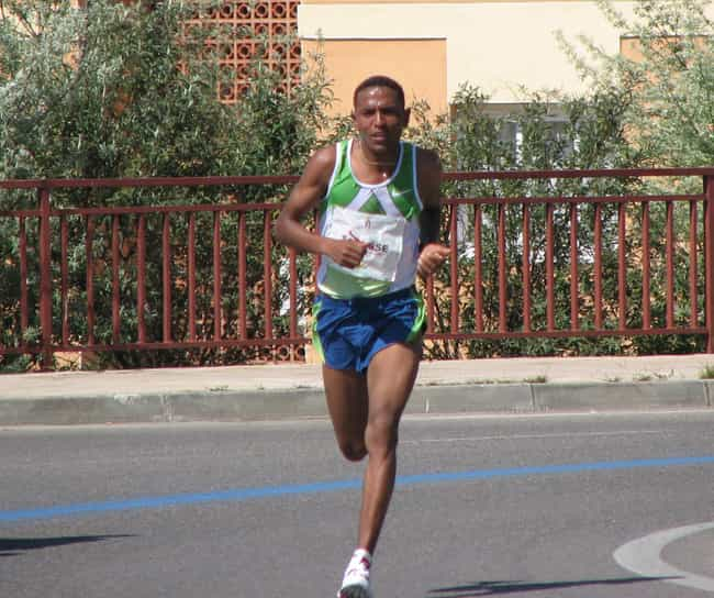 Zersenay Tadese Is Listed Or Ranked 2 On The List Famous Athletes From Eritrea