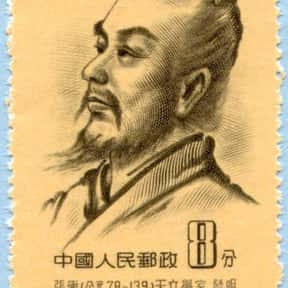 Zhang Heng is listed (or ranked) 4 on the list Famous Chinese Inventors List