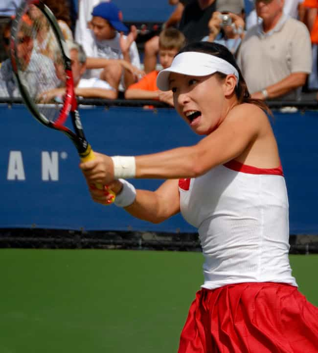 Zheng Jie is listed (or ranked) 2 on the list The Best Tennis Players from China