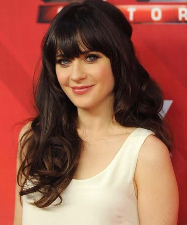 Zooey Deschanel is listed (or ranked) 28 on the list The Most Captivating Celebrity Eyes (Women)