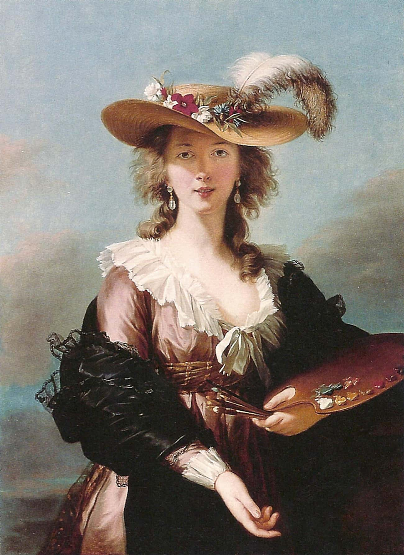 Louise Élisabeth Vigée Le Brun is listed (or ranked) 4 on the list Famous Neoclassicism Artists