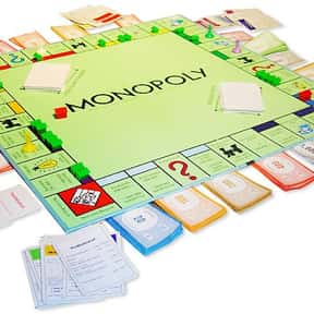 Monopoly is listed (or ranked) 25 on the list The Best Board Games of All Time