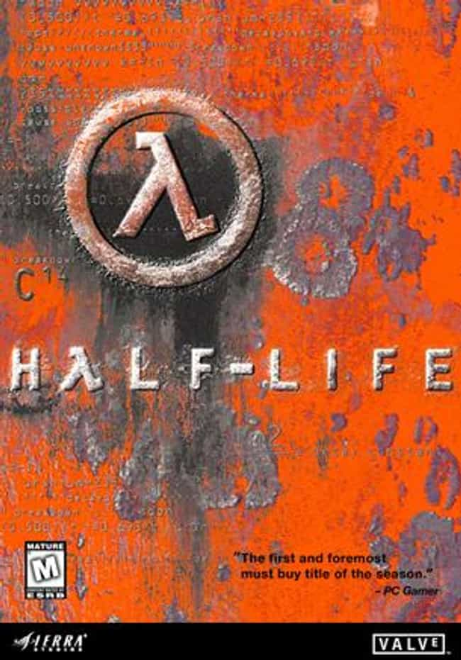 Half-Life is listed (or ranked) 2 on the list The Best Half-Life Games