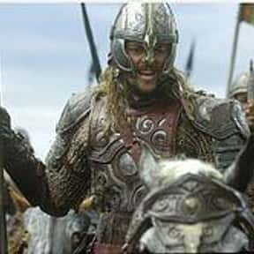 Éomer is listed (or ranked) 24 on the list The Coolest Characters in Middle-Earth