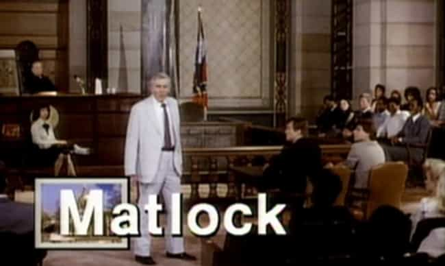 Matlock is listed (or ranked) 3 on the list Dean Hargrove Shows and TV Series