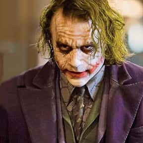 Joker is listed (or ranked) 2 on the list The Greatest Movie Villains Of All Time