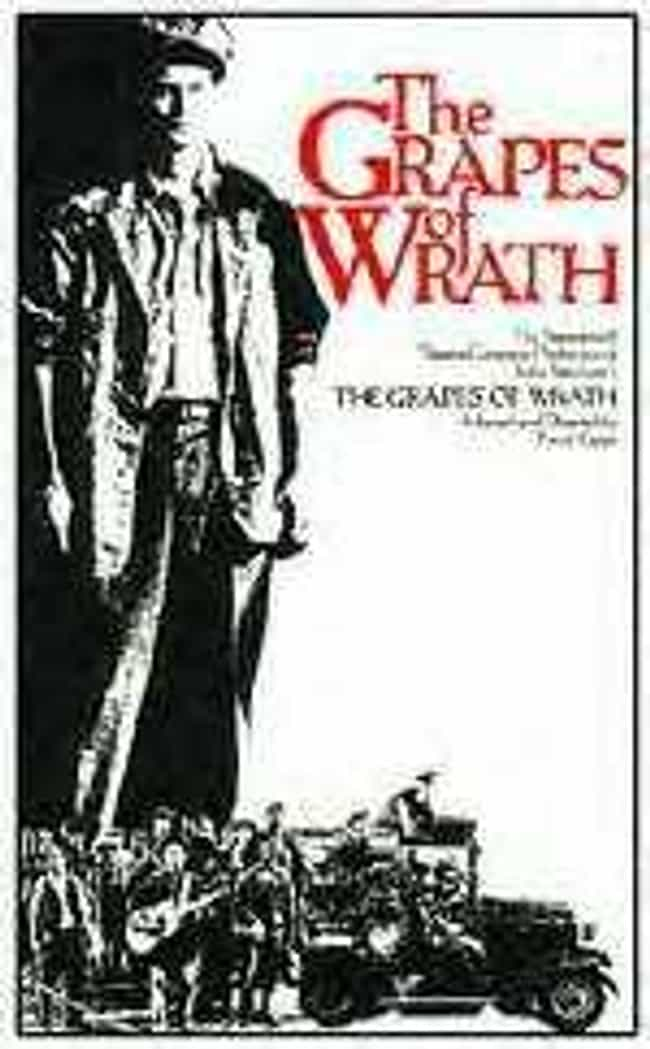 The Grapes of Wrath is listed (or ranked) 4 on the list The Best Plays Based on Books