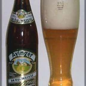 Ayinger Brau-Weisse is listed (or ranked) 21 on the list The Top Beers from Germany