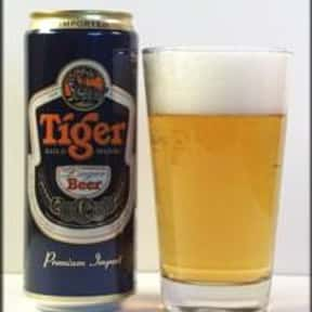 Asia Pacific Tiger is listed (or ranked) 25 on the list Beers with 5.0 Percent Alcohol Content