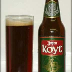 Jopen Koyt is listed (or ranked) 18 on the list The Best Dutch Beers