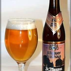 Allgauer Brauhaus St. Magnus H is listed (or ranked) 1 on the list Beers with 7.0 Percent Alcohol Content