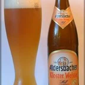 Aldersbacher Kloster Weisse He is listed (or ranked) 3 on the list The Top Beers from Germany
