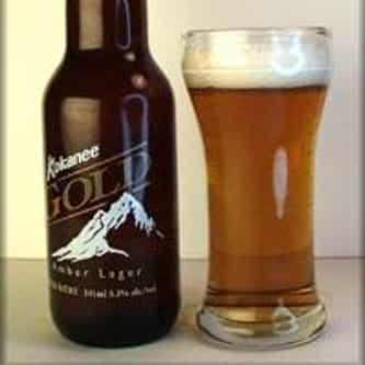 Columbia Brewery Kokanee Gold Amber Lager