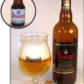 Moortgat Duvel is listed (or ranked) 12 on the list The Best Belgian Beers