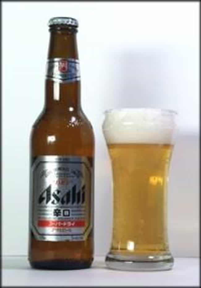 Asahi Super Dry is listed (or ranked) 3 on the list The Top Beers from Japan