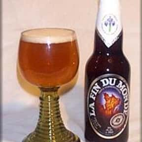 Unibroue La Fin Du Monde is listed (or ranked) 6 on the list The Best Canadian Beers