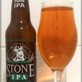 Stone IPA is listed (or ranked) 15 on the list The Best American Domestic Beers