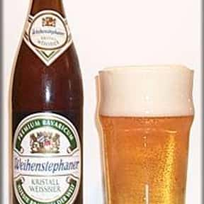 Weihenstephaner Kristall Weiss is listed (or ranked) 2 on the list The Best German Beers