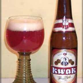 Bosteels Pauwel Kwak is listed (or ranked) 10 on the list Beers with 8.0 Percent Alcohol Content