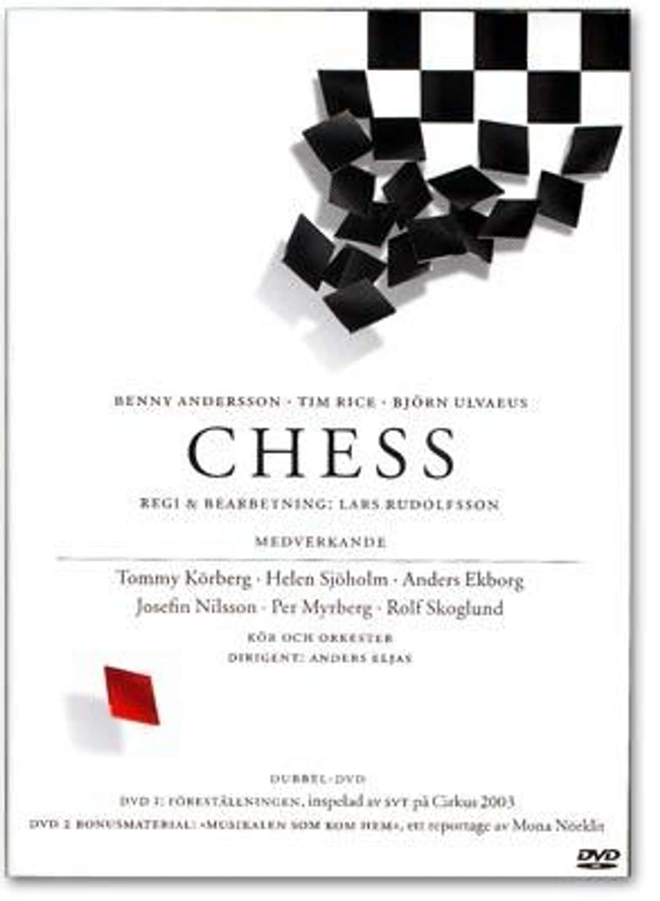 Chess is listed (or ranked) 4 on the list Tim Rice Plays List