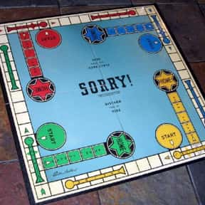 Sorry! is listed (or ranked) 8 on the list The Best Board Games For Kids