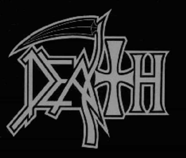 Death is listed (or ranked) 4 on the list 15 Great Underrated Metal Bands