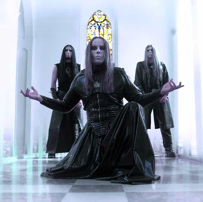Behemoth is listed (or ranked) 1 on the list Bands Whose Whole Thing Is Hell