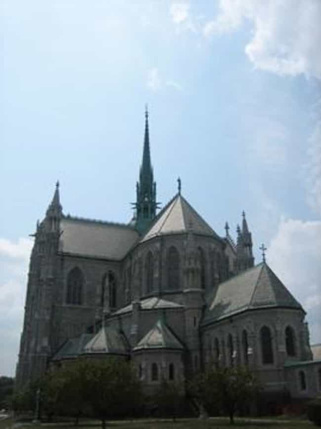 Cathedral Basilica of th... is listed (or ranked) 2 on the list Famous French Gothic architecture buildings
