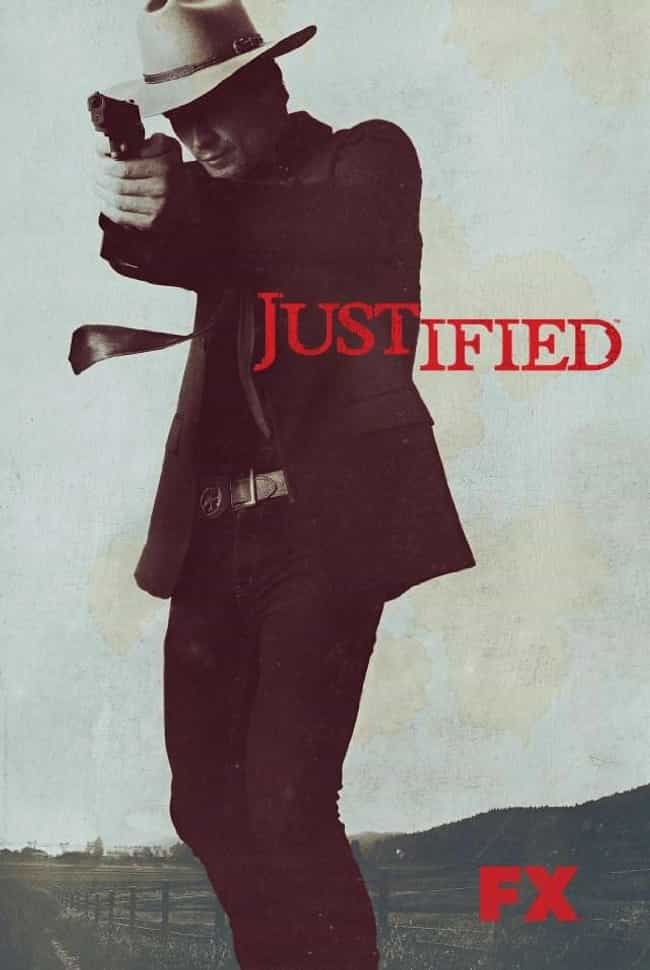Justified is listed (or ranked) 3 on the list What to Watch If You Love 'The Shield'