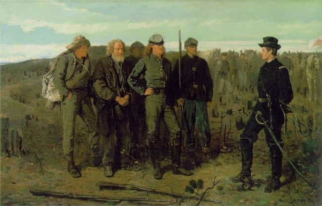 Prisoners from the Front is listed (or ranked) 2 on the list The Best Civil War Paintings