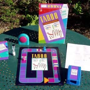 Taboo is listed (or ranked) 11 on the list The Best Board Games for 4 People