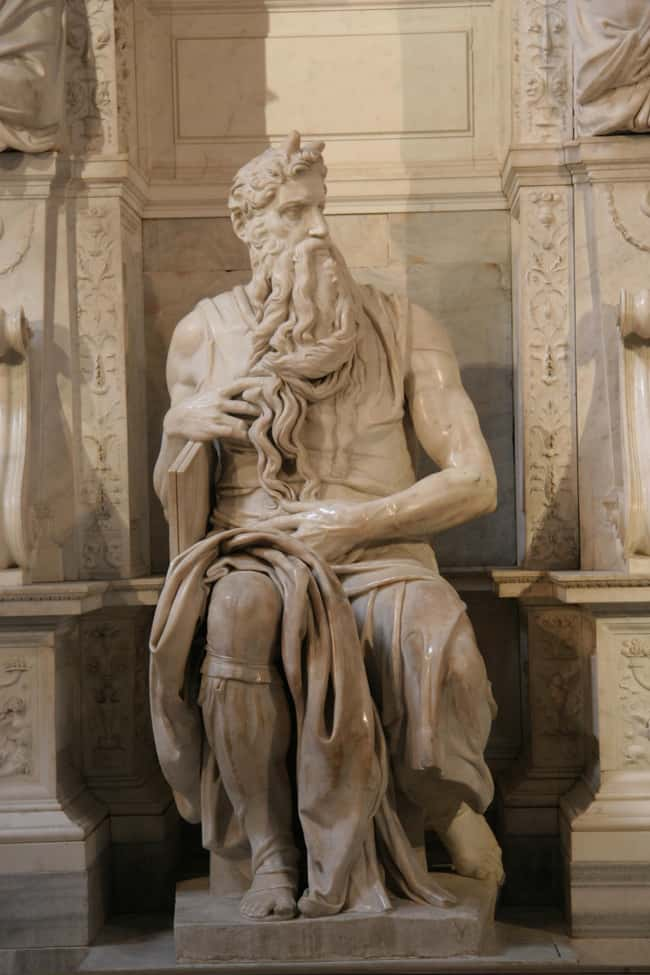 Moses is listed (or ranked) 6 on the list Famous Renaissance Sculptures
