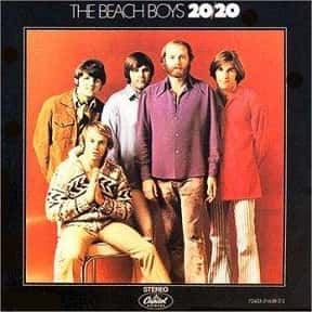 20/20 is listed (or ranked) 13 on the list The Best Beach Boys Albums of All Time