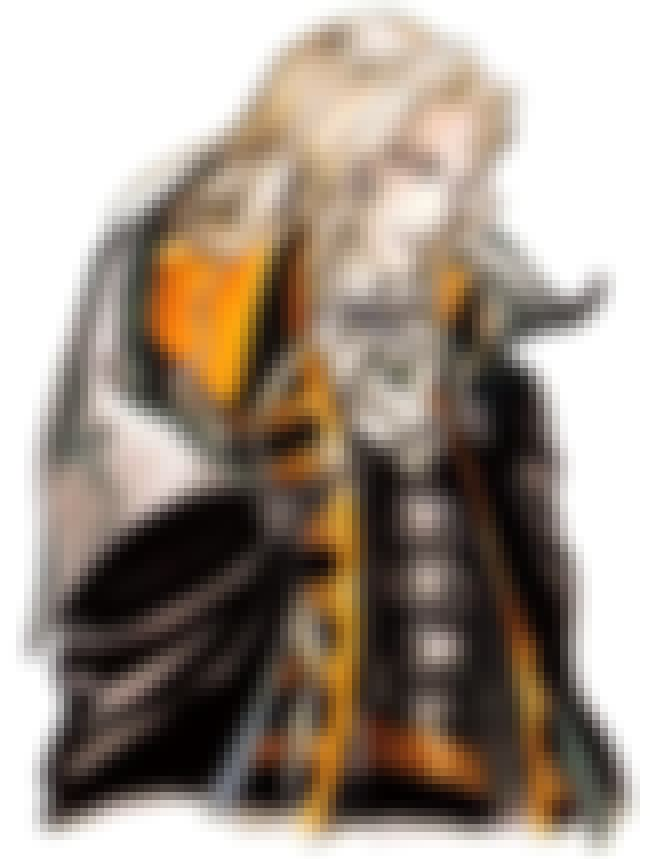 Alucard is listed (or ranked) 2 on the list The Most Famous Fictional Dhampirs