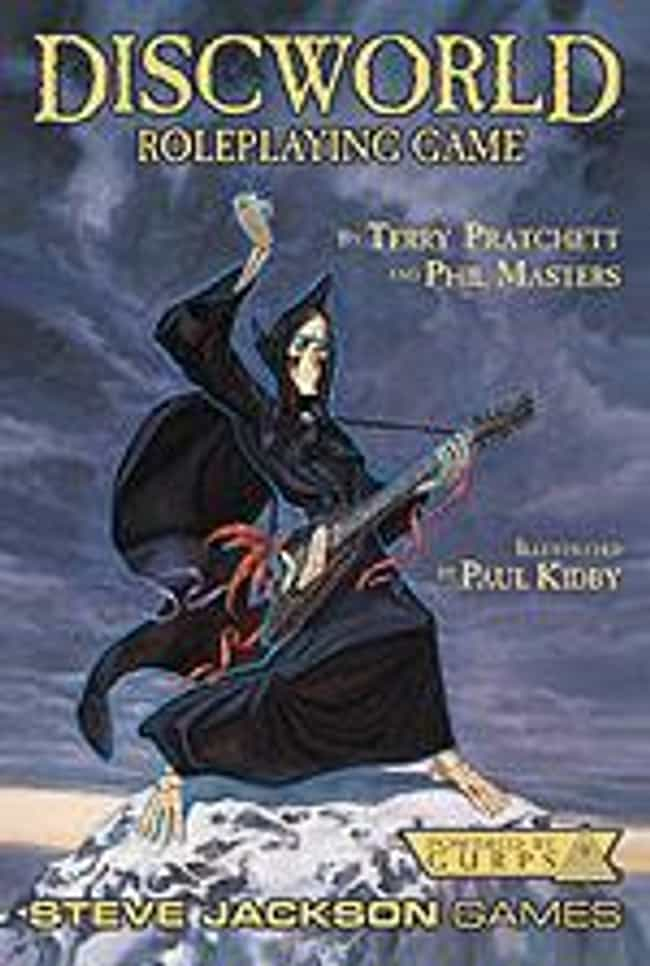 Death is listed (or ranked) 1 on the list The Best Character from Terry Pratchett's Discworld Series