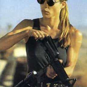 Sarah Connor is listed (or ranked) 4 on the list The Greatest Female Characters in Film History