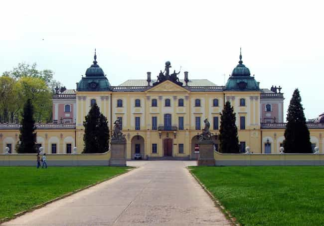 Branicki Palace, Białyst... is listed (or ranked) 3 on the list Poland Architecture: Famous Landmarks and Buildings