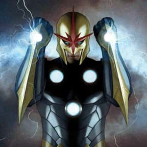 Nova (Richard Rider) is listed (or ranked) 13 on the list Comic Book Characters We Want to See on Film