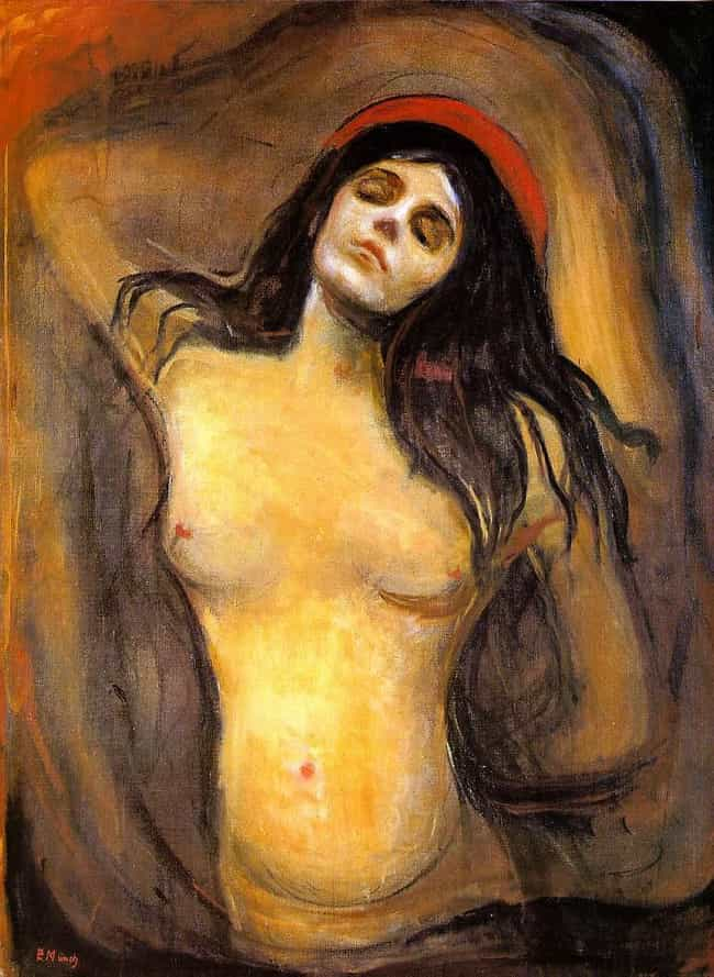 Madonna is listed (or ranked) 4 on the list Famous Edvard Munch Paintings