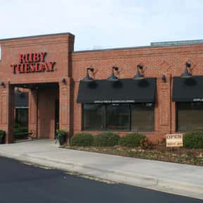 Ruby Tuesday is listed (or ranked) 23 on the list The Best Family Restaurant Chains in America